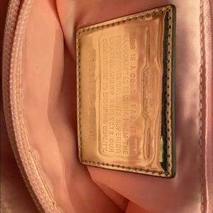 Coach Bags - Coach purse pushlock Poppy Lurex tote